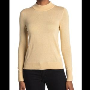 NWT- CURRENT AIR Mock Neck Sweater